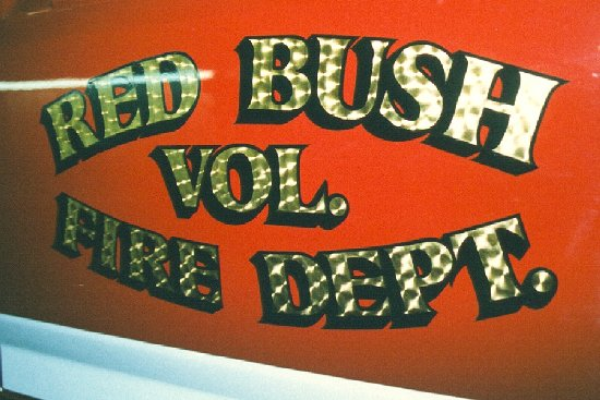 Red Bush Fire Dept., KY.