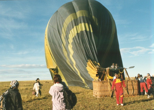 I launched at Sarova Base Camp and landed near Fig Tree Road in the Masai Mara National Reserve.